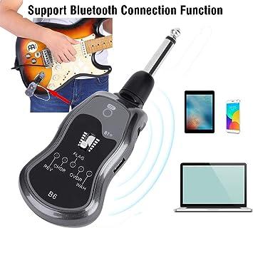 Hoison Music Sistema para Bluetooth Portátil Guitar Effector 3.5mm Salida Jack 5 Modos de Sonido Accesorio B6: Amazon.es: Instrumentos musicales