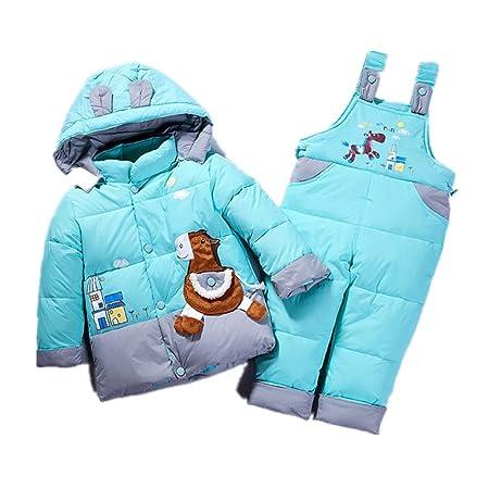 eb986ba34 Yishelle Girls Winter Snowsuit Winter Warm Cute Baby Snowsuit Two ...