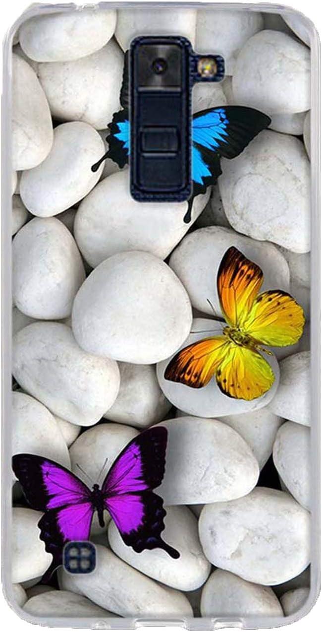 Phone Case for LG K8 K350N K350DS LTE K350E Escape 3 K373 Phoenix 2 Soft Silicone Back Cover Case for LG K7 K10 Leon Spirit Bags,6,for LG K7
