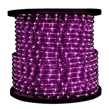 12 in incandescent purple rope light 2 wire 120 volt incandescent purple rope light 2 wire aloadofball Choice Image