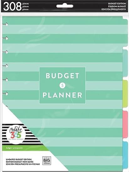 amazon com new big size the happy planner budget edition