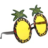 Lalang Hawaiian Pineapple Stil Beach Gläser, Partybrille Party Dekoration