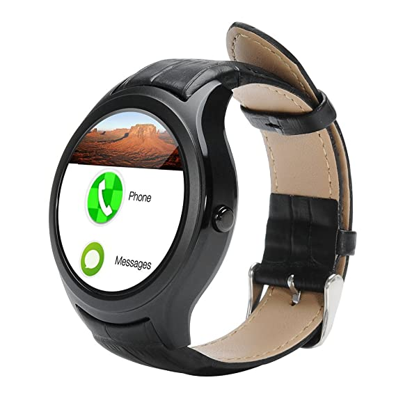 NO.1 D5 Android Smart Watch - Wi-Fi, 3G SIM, BT4.0, Google Play ...