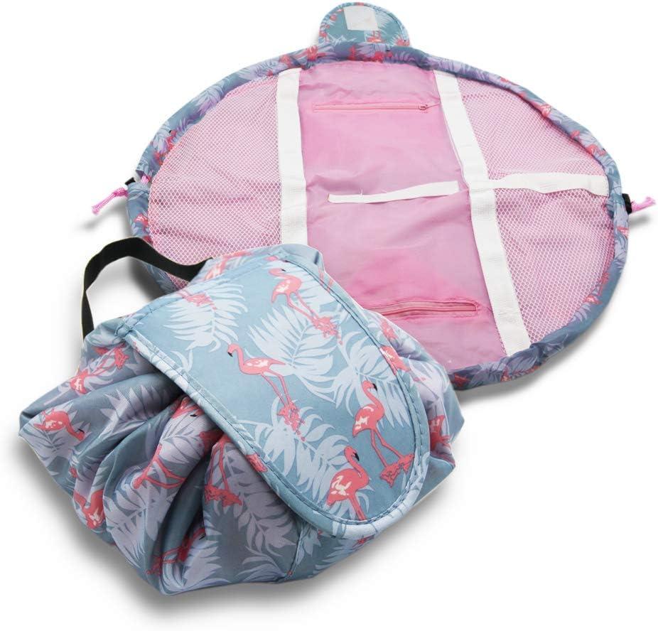 travel makeup bag drawstring