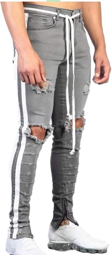 Pantalones Vaqueros para Hombre, Correas con eslabones de ...