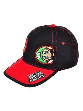 dc1e217d2ab68 Baseball Cap - Nintendo - Super Mario+Luigi Black Kids Boys Youth Size  NTF77358ST