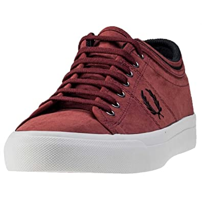 9c7007418be Fred Perry Kendrick Tipped Cuff Burshd Mens Trainers  Amazon.co.uk  Shoes    Bags