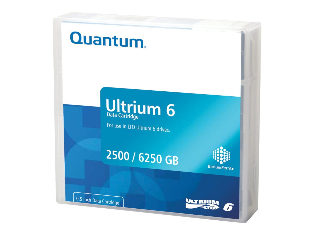 QUANTUM (DISTRIBUTION) Ultrium LTO-6 Tape MP MR-L6LQN-LP 20x Library pack (MR-L6LQN-LP)