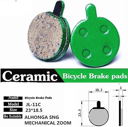 4 pares de pastillas de freno de disco de cerámica para bicicleta ...