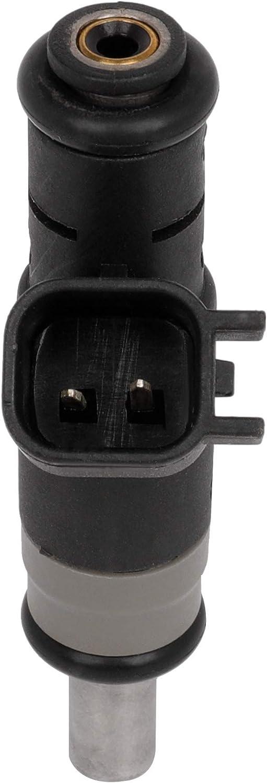 QUALINSIST 4pcs Fuel Injectors 4891577AC Fit for 11-13 for Chrysler for 200 07-10 for Chrysler for Sebring 07-13 for Jeep for Compass//Patriot 4 Holes