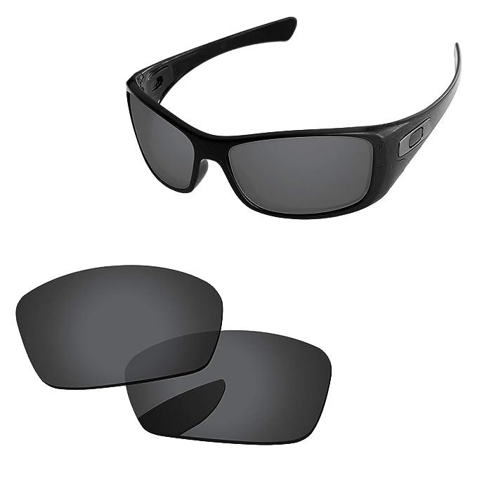 918ab2c093b Amazon.com  PapaViva Lenses Replacement for Oakley Hijinx Black Grey ...