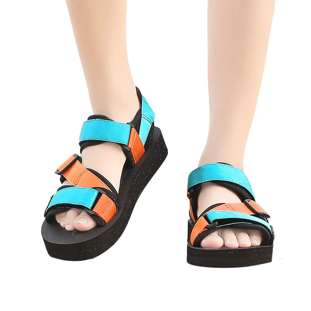 Moonker Summer Couples Sport Sandals Fashion Flats Unisex Open Toe Athletic and Outdoor Shoes