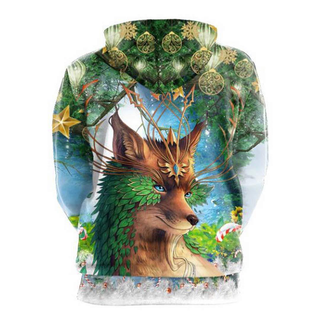 Amazon.com: Harajuku Kawaii Clothes 3D Print Animal Fox Hoodies Pullovers Hat Sweatshirts: Clothing