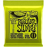 Ernie Ball 2221 Nickel Regular Slinky Electric Guitar...