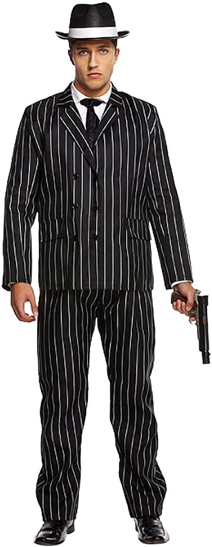 Para mayores de para hombre 1920s Gatsby Gangster Bugsy Malone ...