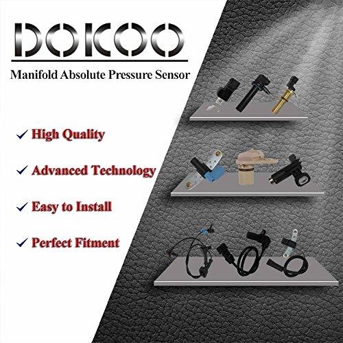 Manifold Absolute Pressure Sensor MAP Sensor for Chevrolet Chevy Impala Malibu 97-03 Buick Century 85-04 Isuzu Rodeo 96 97 Oldsmobile Alero 99-02