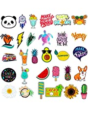 Stickers for Water Bottles Big 30-Pack Cute, Waterproof, Trendy Stickers for Teens, Girls Perfect for Waterbottle, Laptop, Phone, Travel, Extra Durable