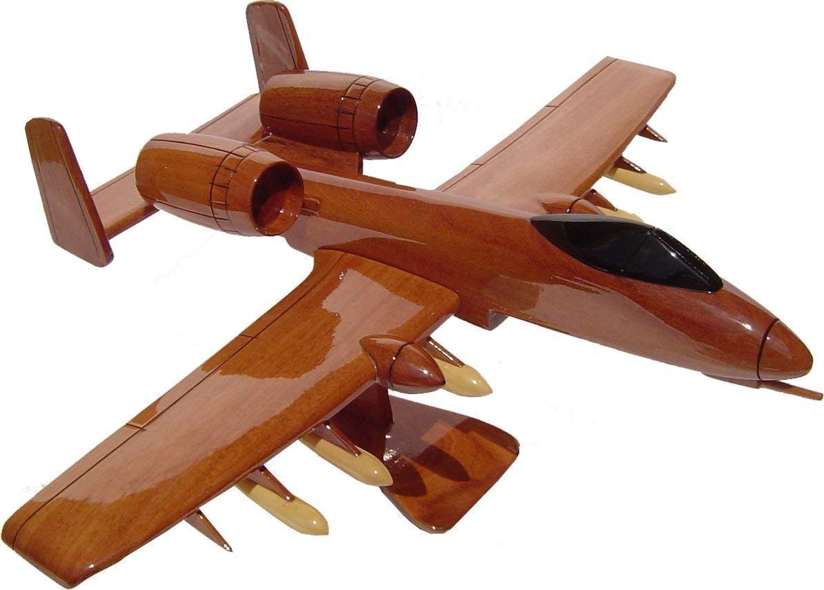 A10 Warthog Wooden desktop Model