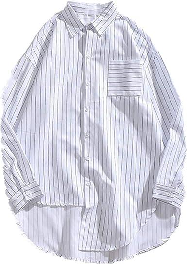 U/A hombres casual camisa Tops hombres negocios camisa ...