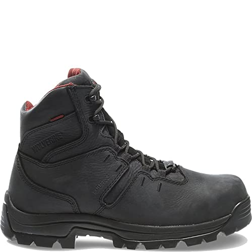 8064d5a717d Wolverine Men's Bonaventure 6 Inch Waterproof Steel Toe EH Work Boot