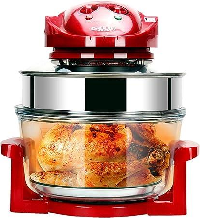 Freidora eléctrica doméstica sin humo, sin humo, papas fritas, pollo frito, freidora, nueva freidora casera inteligente: Amazon.es: Hogar