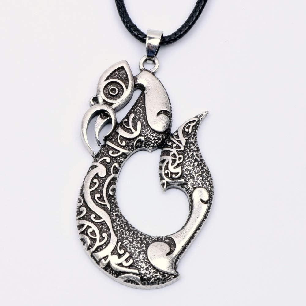 Collar para hombre Pikorua collar colgante maorí Twist símbolo ...