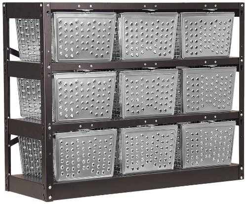 Salsbury Industries 77709-U Unassembled Basket Locker by Salsbury Industries