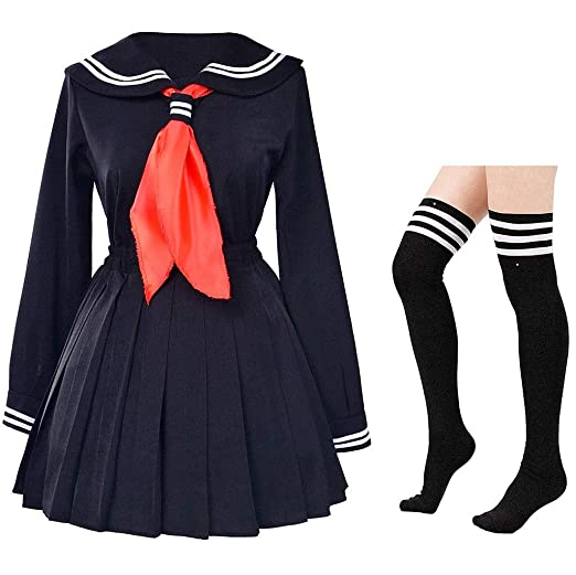 Clásico de la escuela japonesa niñas marinero camisas de vestir ...