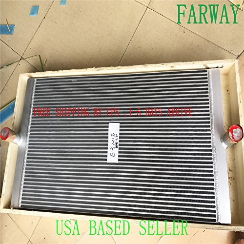 E320D CORE AS-OIL COOELR,OIL COOLER ASSY,HYDRAULIC E320DL,530 MM ()