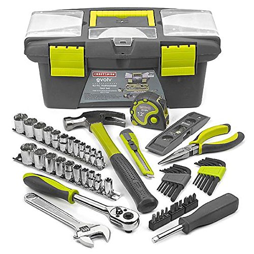Craftsman Evolv 52 pc. Homeowner Tool Set - Model (Craftsman Measuring Tape)