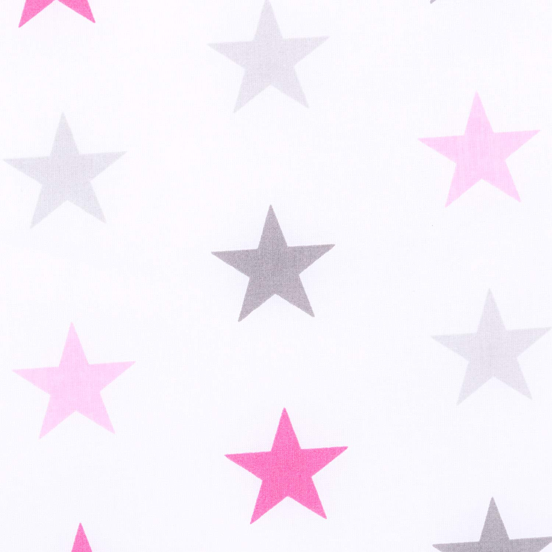 180x30 cm Bettnestchen Baby Kantenschutz Bettausstattung Sternchen GRO/ß rosa 360x30cm 180x30cm Amilian/® Bettumrandung Nest Kopfschutz Nestchen 420x30cm