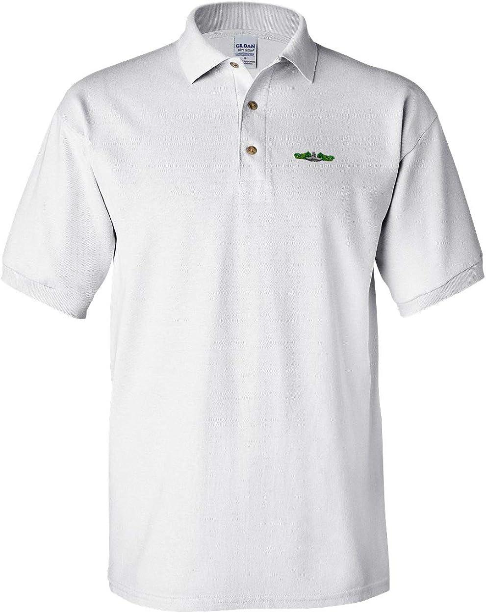 Polo Shirt Sub Dolphins Logo Military