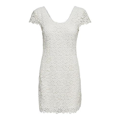 Only Onlsassy S/S Short Dress Wvn, Vestido para Mujer