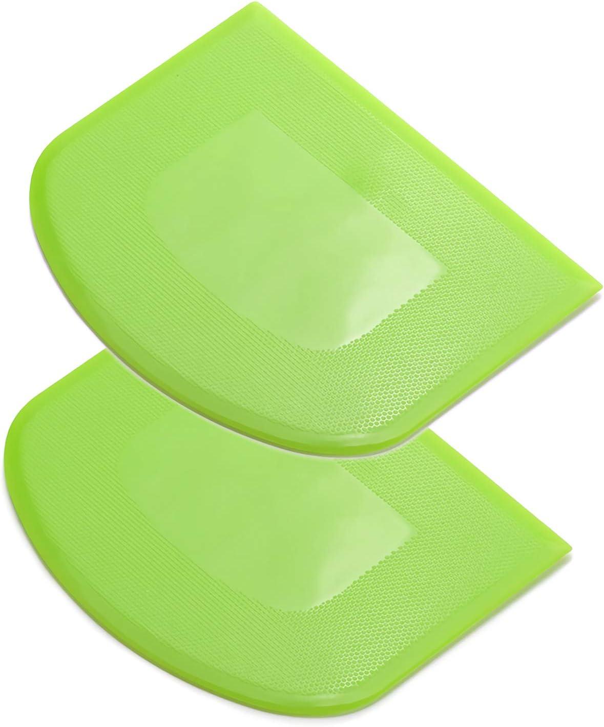Elastic plastic scraper practical bench scraper multifunctional food scraper
