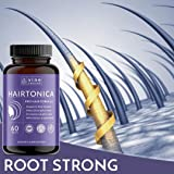 Hairtonica - Hair Vitamins for Faster Hair Growth - Best Hair Growth Supplement & Hair Vitamin - Support Hair Loss & Thinning with Hair Growth Pills - Hair Supplement with Biotin 5000mcg, MSM, Keratin