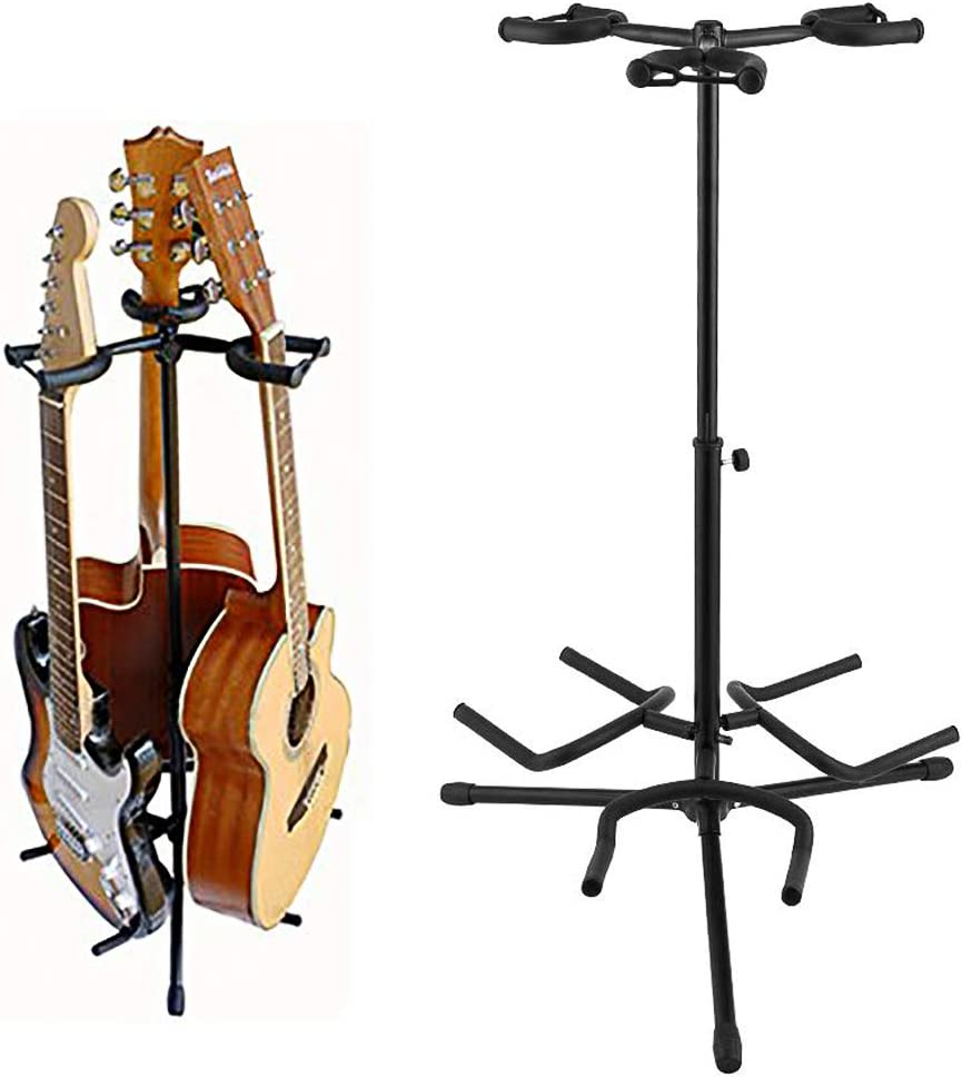 Noeler Tripod Guitar Stand- Tripod Adjustable Multiple Guitar Stand for Acoustic Guitar, Classic Guitar, Electric Guitar