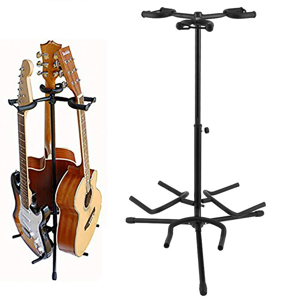 Noeler Tripod Guitar Stand- Tripod Adjustable Multiple Guitar Stand for Acoustic Guitar, Classic Guitar, Electric Guitar (Tripod Guitar Stand)