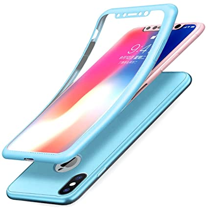 iphone xs case sky blue