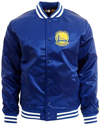 New Era Golden State Warriors NBA Tip Off Sateen Bomber ...