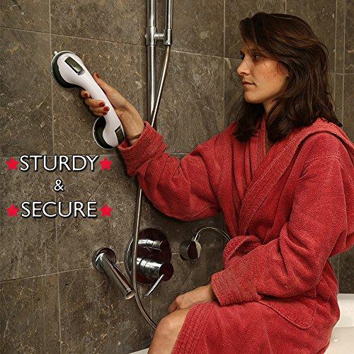 Amazon.com: Grab Bar by Dr. Maya - Bath Support with Free Shower ...