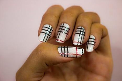 Buy Nail Art Sticker Slithy Strips Biodegradable Non Toxic