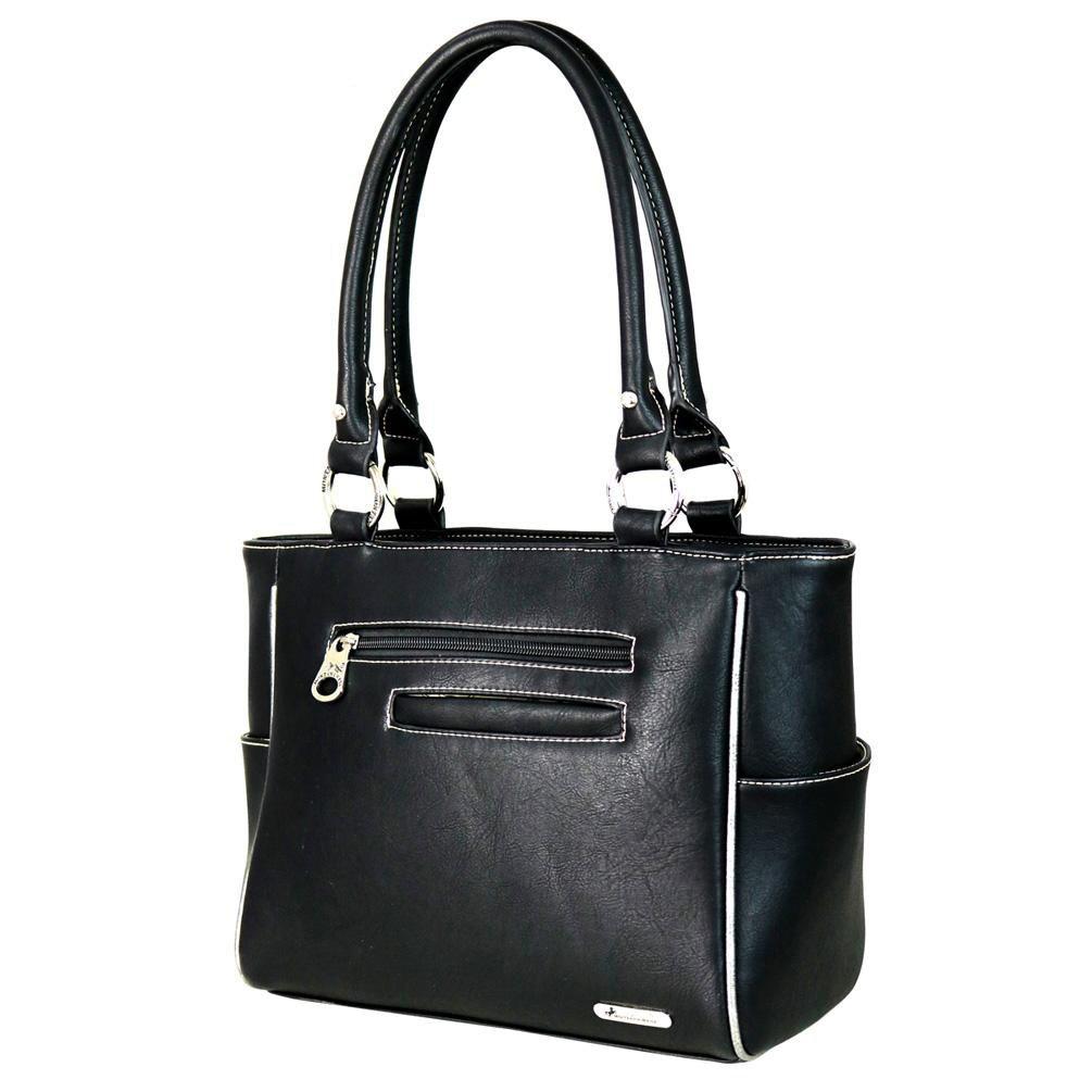 Montana West Handbags Belt Buckle Floral Concho Tote Bag Purses MW584-8250