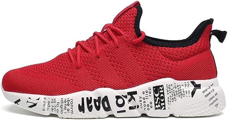 Zapatillas de Deporte Hombre Zapatos para Correr Athletic Cordones Zapatillas De Running Trail Tenis Basket Sneakers Respirable Bambas Hombre: Amazon.es: Zapatos y complementos