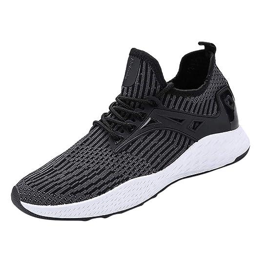 Luckycat Laufschuhe Damen Sportschuhe Turnschuhe Herren Sneakers Running Shoes Air Sport Atmungsaktiv Straßenlaufschuhe Herre