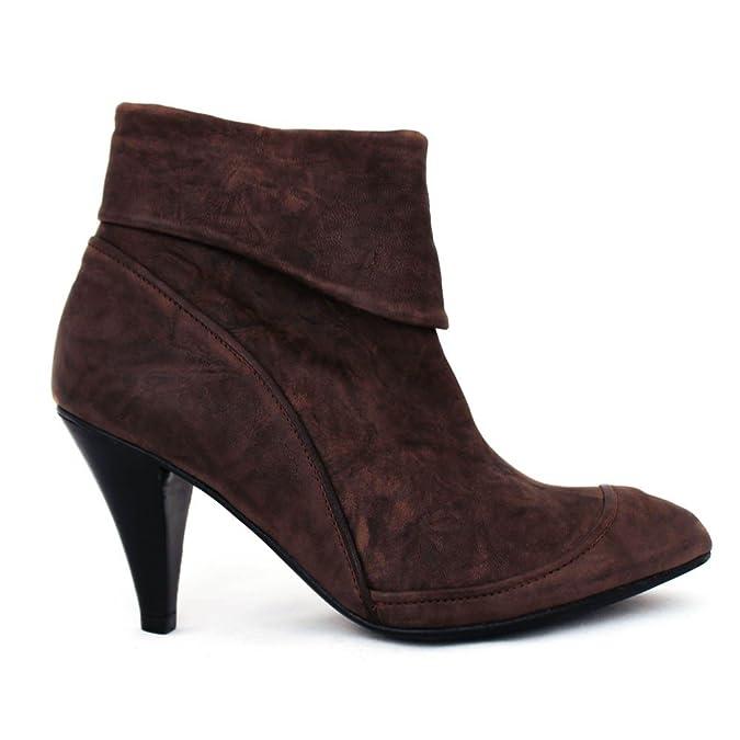 Low boots marrons Anne Valérie et Hash    Chaussures et Valérie Sacs a95b61 5cfaffb4df1d