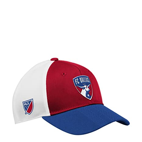cbc501beba9 Image Unavailable. Image not available for. Color  adidas FC Dallas Hat  Authentic Structured Adjustable ...