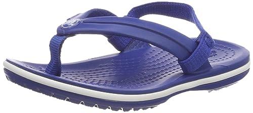 crocs Unisex-Kinder Crocband Strap Flip Zehentrenner