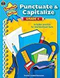 Punctuate and Capitalize, Grade 4, Susan Collins, 0743937783