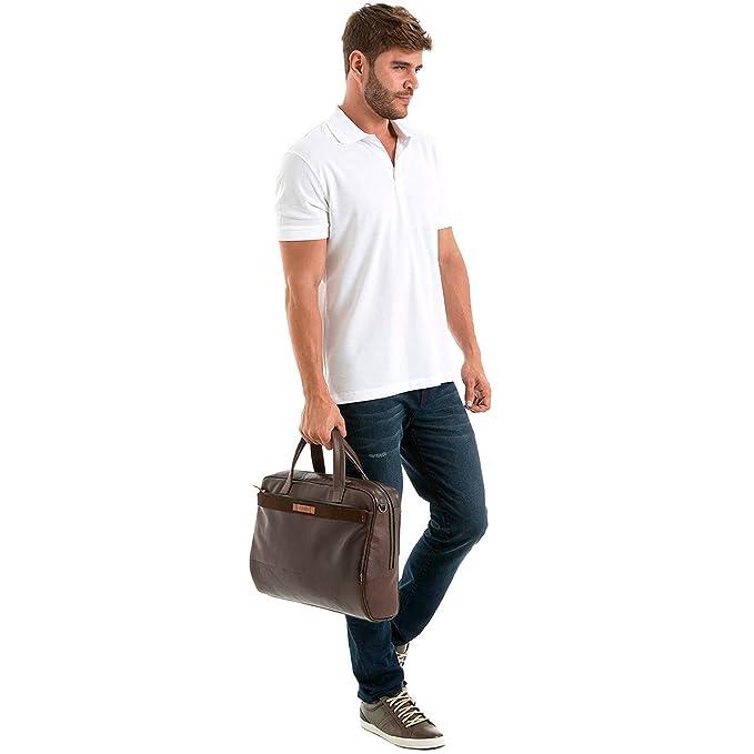 Amazon.com | Velez Mens Genuine Colombian Leather Business Travel Briefcase Laptop Crossbody Messenger Bag | Maletin y Bolso de Cuero Colombiano para ...