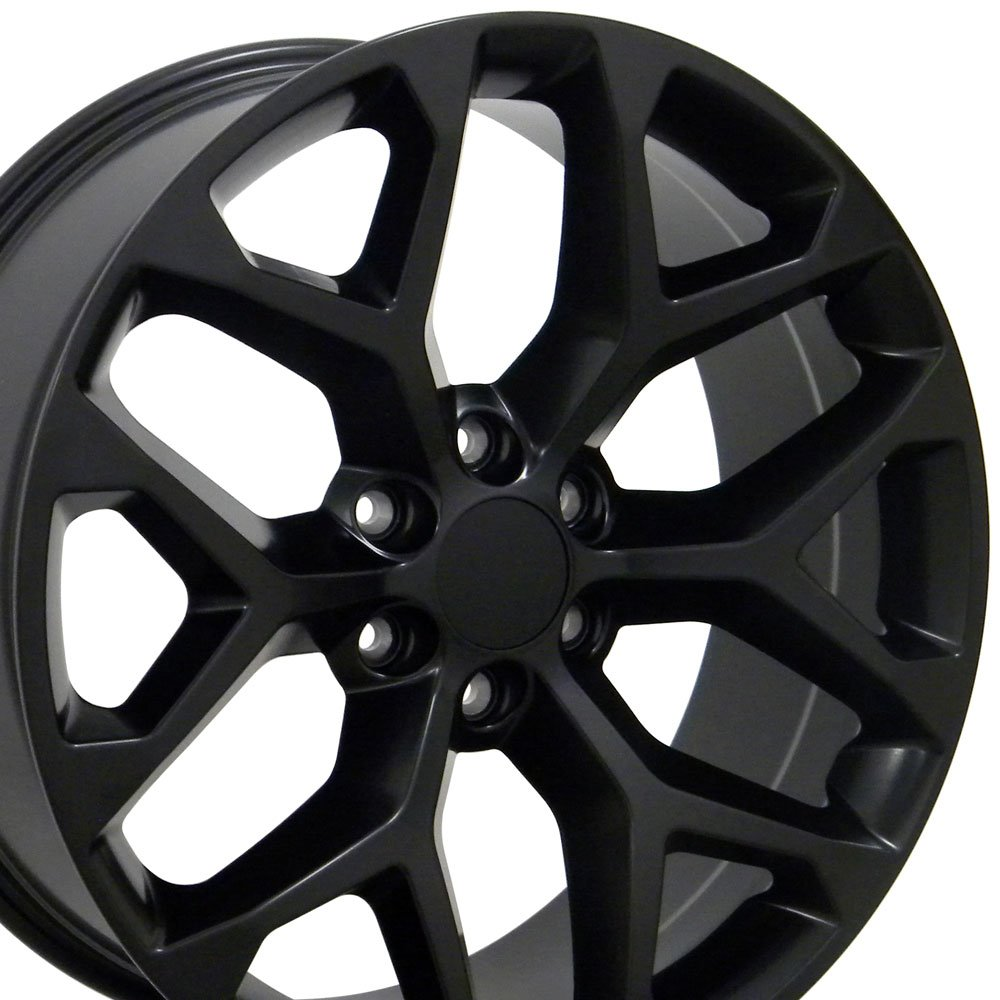 OE Wheels 20 Inch Fits Chevy Silverado Tahoe GMC Sierra Yukon Cadillac Escalade CV92 20x9 Rims Chrome SET